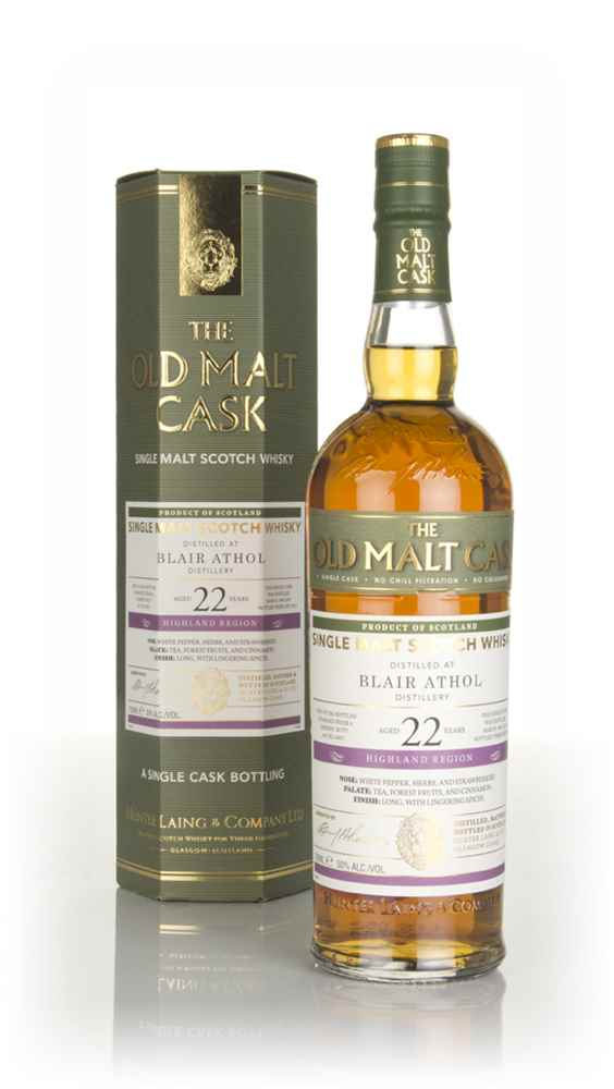 Blair Athol 22 Year Old 1995 (cask 14657) - Old Mask Cask (Hunter Laing)