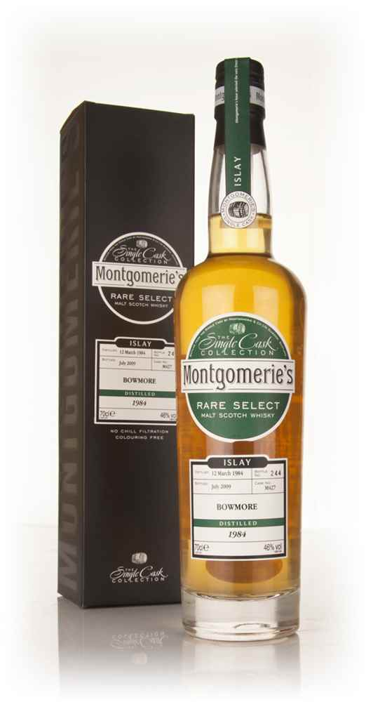 Bowmore 25 Year Old 1984 - Rare Select (Montgomerie's)