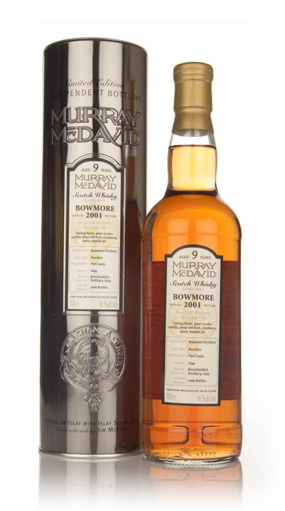 Bowmore 9 Year Old 2001 (Murray McDavid)