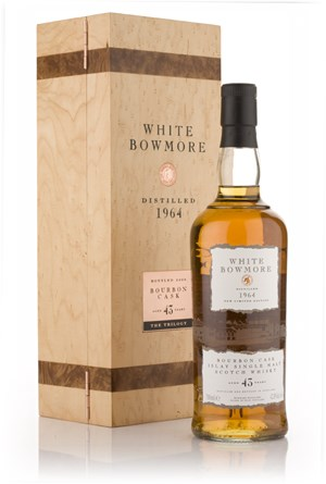 White Bowmore 43 Year Old 1964