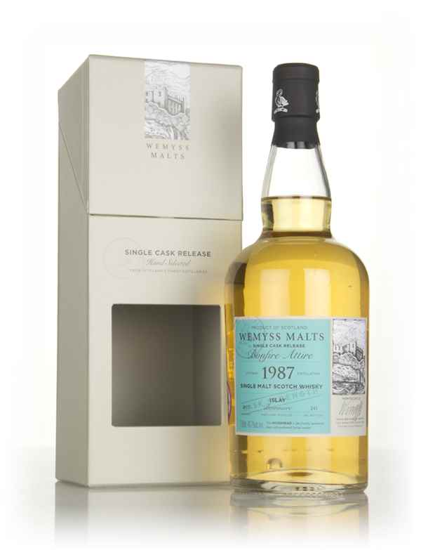 Bonfire Attire 1987 (bottled 2017) - Wemyss Malts (Bowmore)