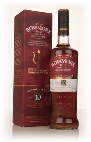 Bowmore 10 Year Old Devil's Cask
