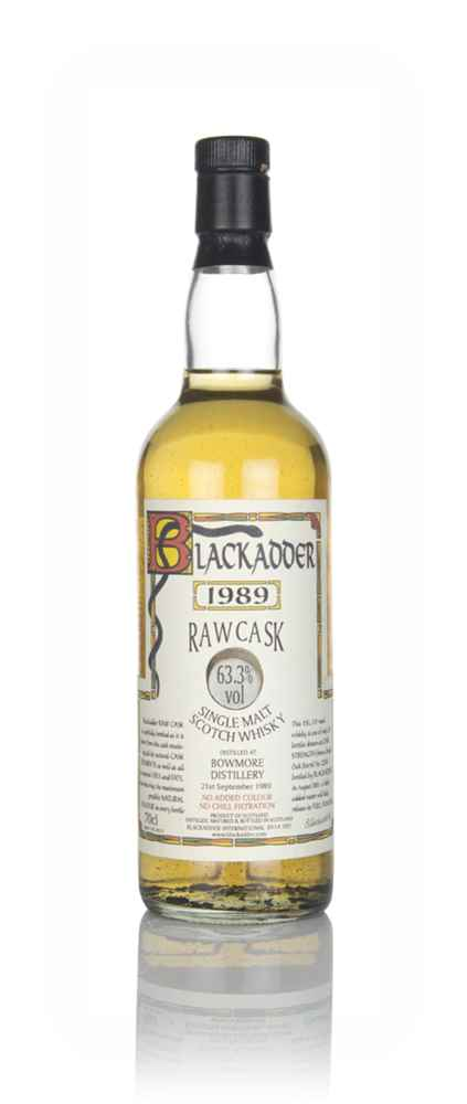 Bowmore 11 Year Old 1989 - Raw Cask (Blackadder)