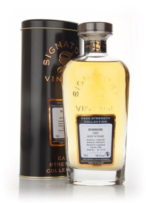 Bowmore 14 Year Old 1997 - Cask Strength Collection (Signatory