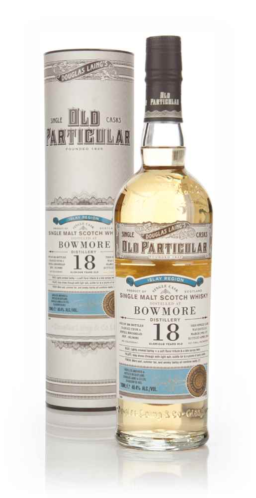 Bowmore 18 Year Old 1996 (cask 10285) - Old Particular (Douglas Laing)