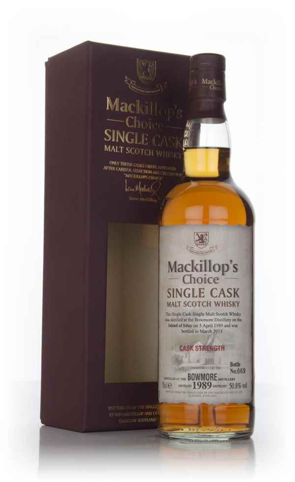 Bowmore 23 Year Old 1989 - Mackillop's Choice