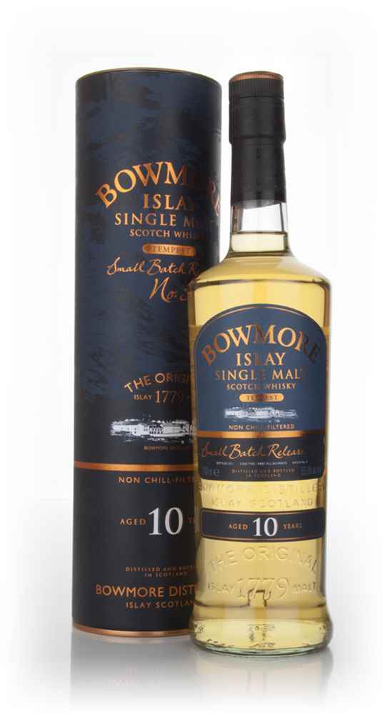 Bowmore Tempest 10 Year Old - Batch 3