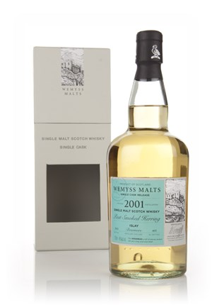 Peat Smoked Herring 2001 - Wemyss Malts (Bowmore)