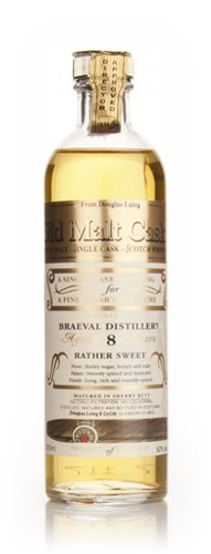 Braeval 8 Year Old Sweet Cigar Malt - Old Malt Cask (Douglas Laing)