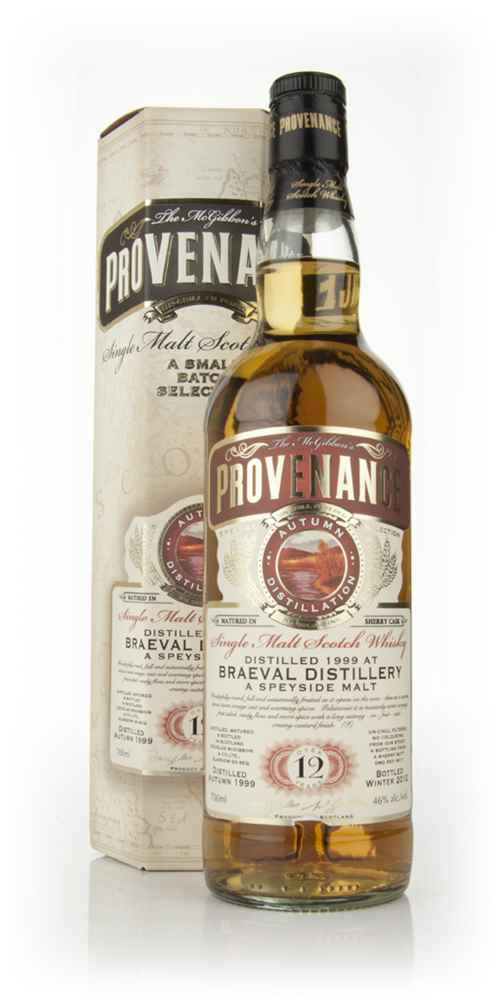 Braeval 12 Year Old 1999 (cask 8011) - Provenance (Douglas Laing)