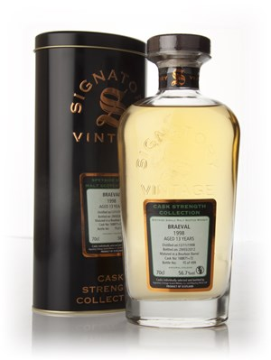 Braeval 13 Year Old 1998 - Cask Strength Collection (Signatory)