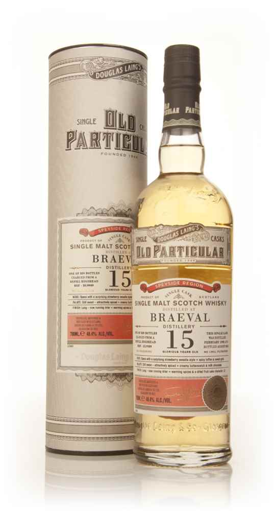 Braeval 15 Year Old 1998 (cask 9989) - Old Particular (Douglas Laing)