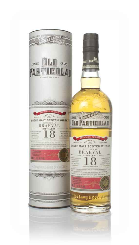 Braeval 18 Year Old 2001 (cask 13507) - Old Particular (Douglas Laing)