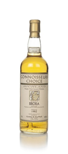 Brora 1982 (bottled 1999) - Connoisseurs Choice (Gordon & MacPhail)