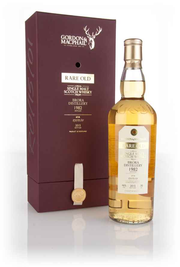 Brora 1982 (bottled 2015) (Lot. No. RO/15/01) - Rare Old (Gordon & MacPhail)