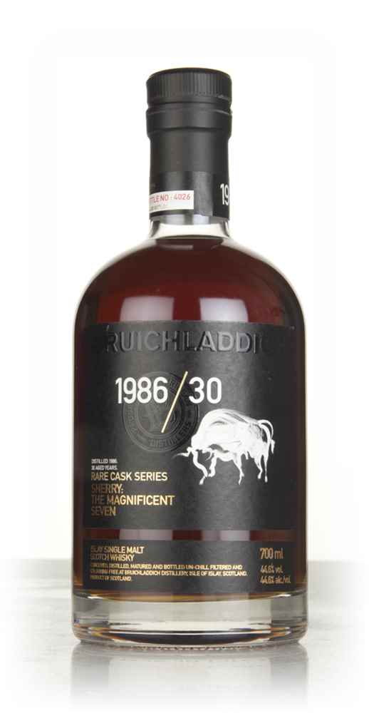 Bruichladdich 1986/30 - The Magnificent Seven