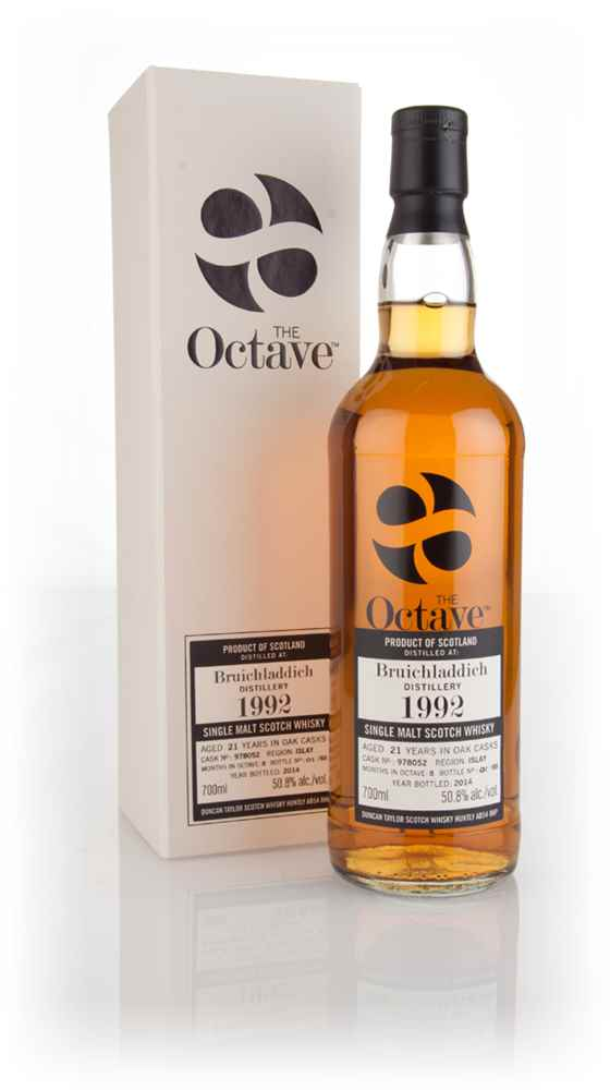 Bruichladdich 21 Year Old 1992 (cask 978052) - The Octave (Duncan Taylor)