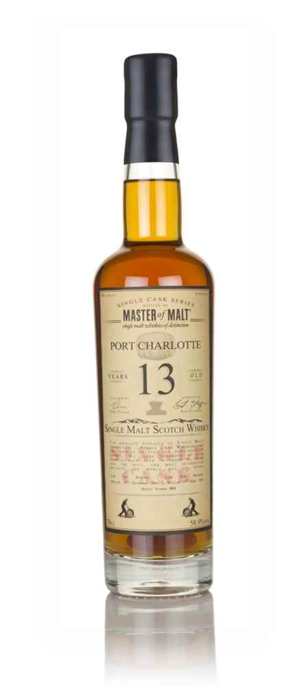 Port Charlotte 13 Year Old 2004 (Burgundy cask) - Single Cask (Master of Malt)