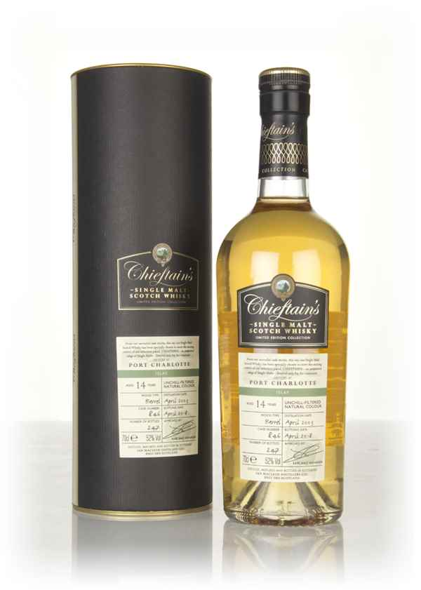Port Charlotte 14 Year Old 2003 (cask 846) - Chieftain's (Ian Macleod)