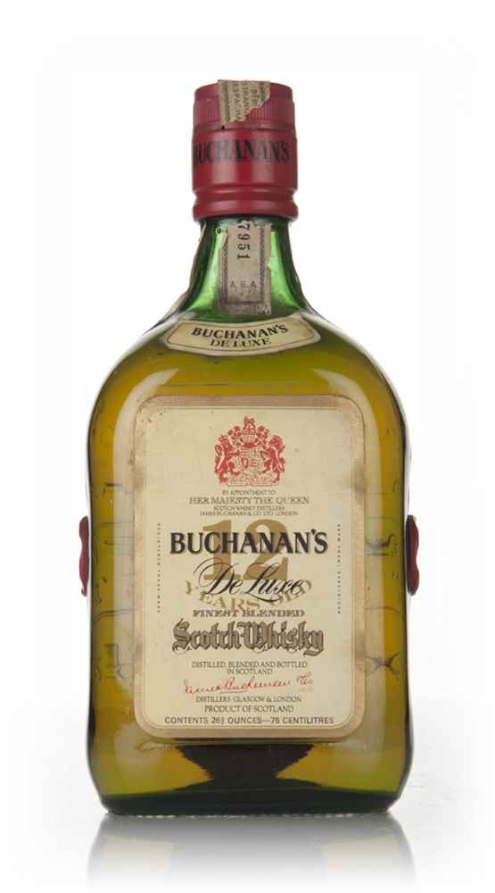 James Buchanan's De Luxe 12 Year Old - 1960s
