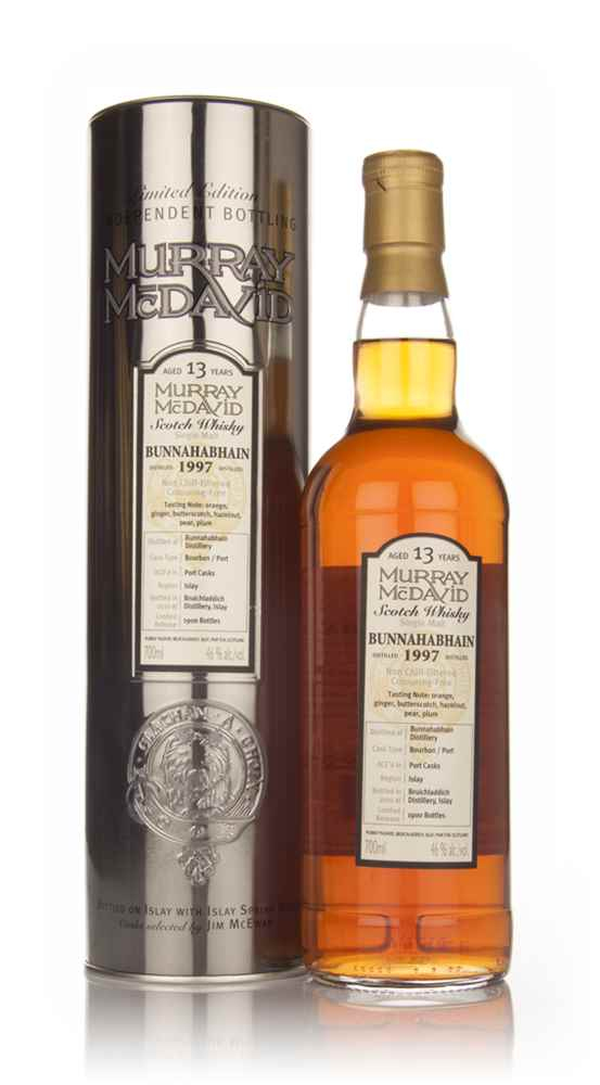Bunnahabhain 13 Year Old 1997 (Murray McDavid)