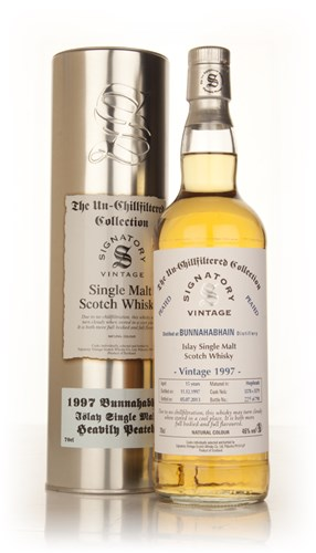 Bunnahabhain 15 Year Old 1997 (casks 5578+5579) - Un-Chillfiltered (Signatory)