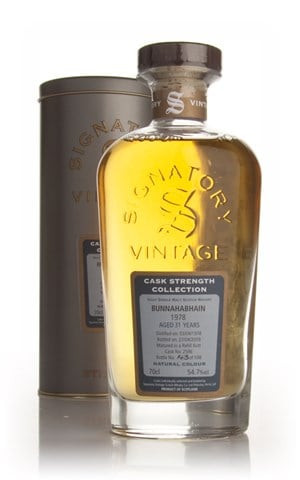 Bunnahabhain 31 Year Old 1978 - Cask Strength Collection (Signatory)
