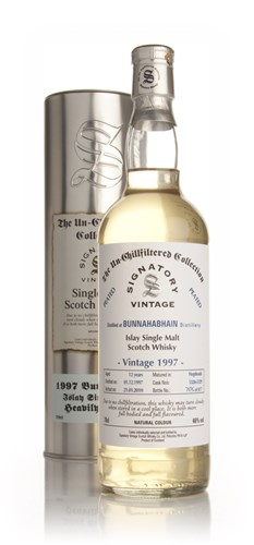 Bunnahabhain Peated 12 Year Old 1997 - Un-Chillfiltered (Signatory)