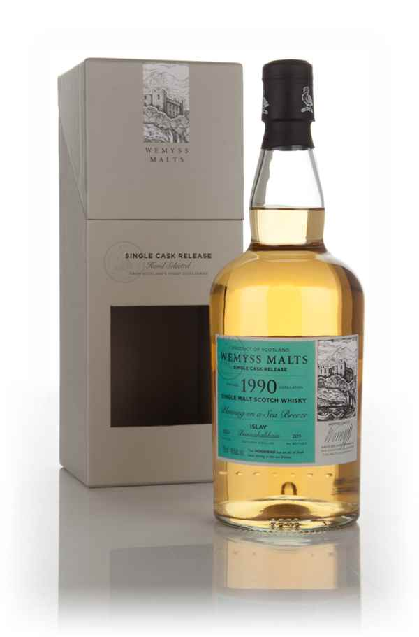 Blowing on a Sea Breeze 1990 (bottled 2015) - Wemyss Malts (Bunnahabhain)
