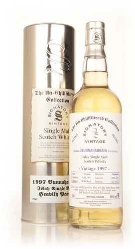 Bunnahabhain 15 Year Old 1997 (casks 5573+5574) - Un-Chillfiltered (Signatory)
