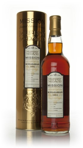 Bunnahabhain 18 Year Old 1992 - Mission (Murray McDavid)