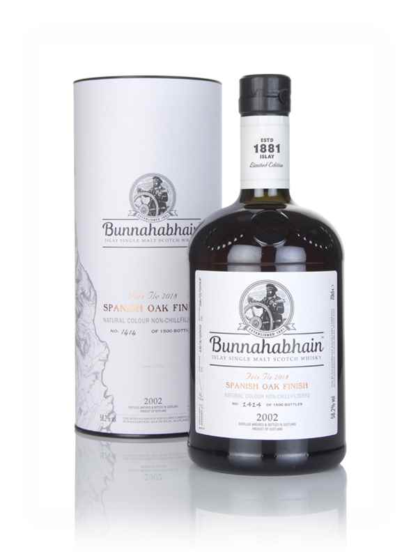 Bunnahabhain 2002 Spanish Oak Finish - Fèis Ìle 2018