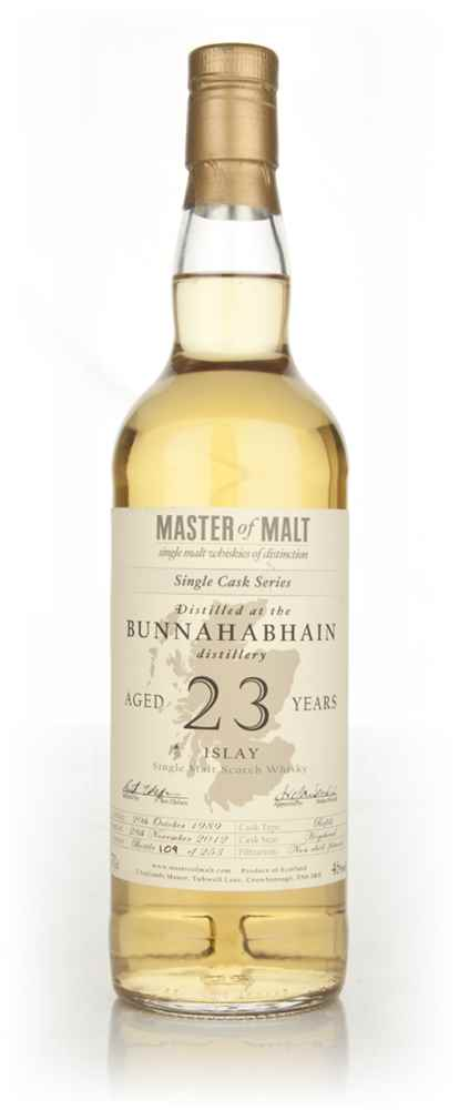 Bunnahabhain 23 Year Old - Single Cask (Master of Malt)