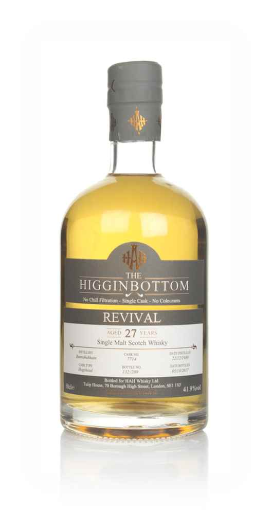 Bunnahabhain 27 Year Old 1989 (cask 7714) - Revival (The Higginbottom)