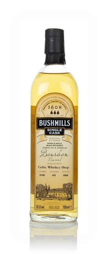 Bushmills 1989 (cask 8156) - Single Cask