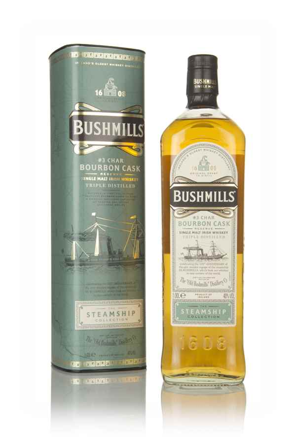 Bushmills Bourbon Cask Reserve - Steamship Collection