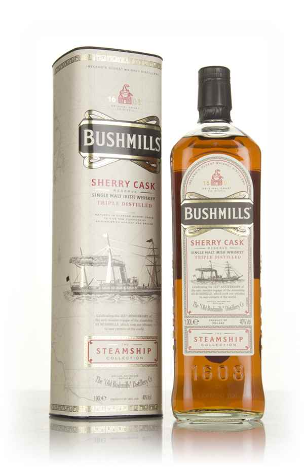 Bushmills Sherry Cask Reserve - Steamship Collection