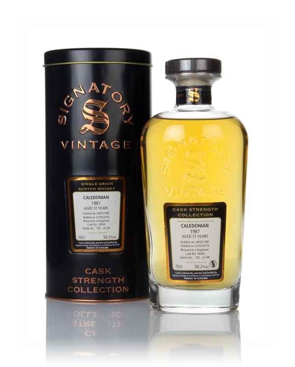 Caledonian 31 Year Old 1987 (cask 18504) - Cask Strength Collection (Signatory)