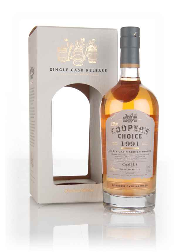 Cambus 24 Year Old 1991 (cask 79877) - The Cooper's Choice (The Vintage Malt Whisky Co.)