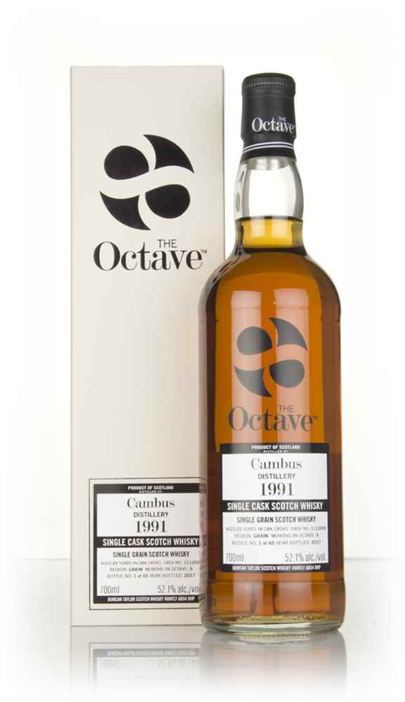 Cambus 25 Year Old 1991 (cask 1112939) - The Octave (Duncan Taylor)