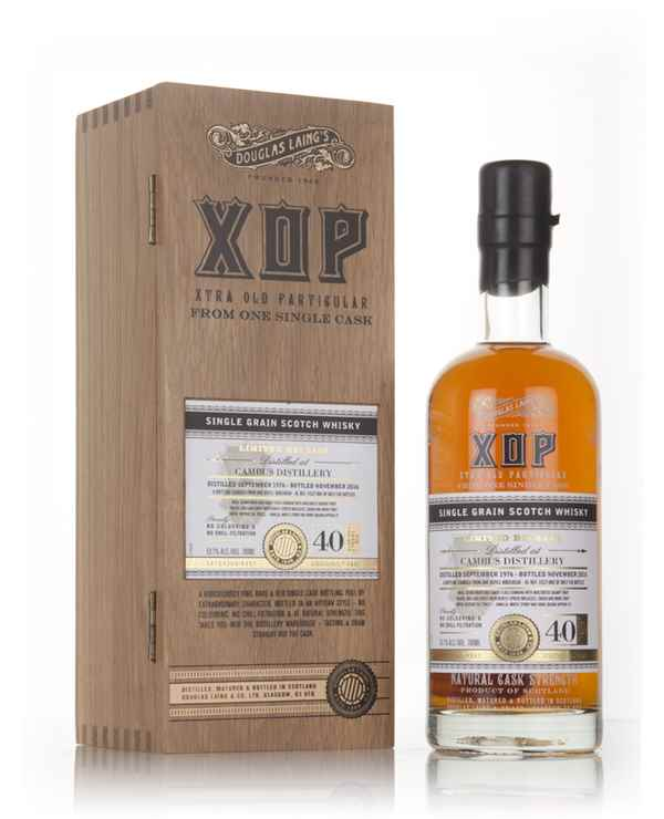 Cambus 40 Year Old 1976 (cask 11527) - Xtra Old Particular (Douglas Laing)