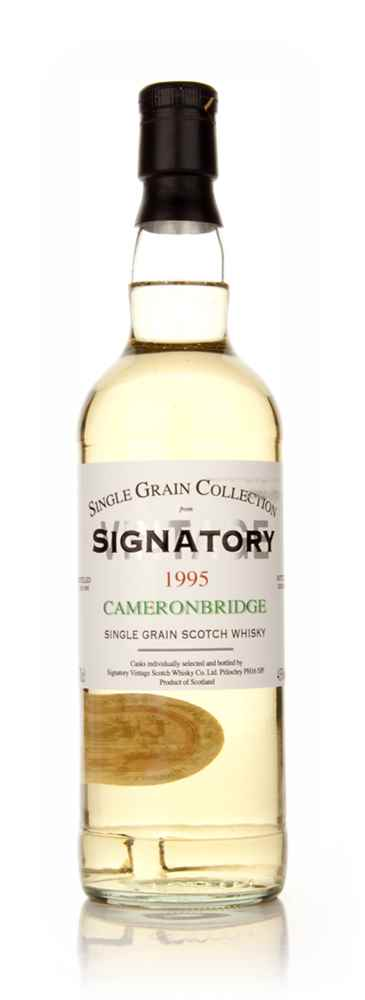 Cameronbridge 18 Year Old 1995 - Single Grain Collection (Signatory)