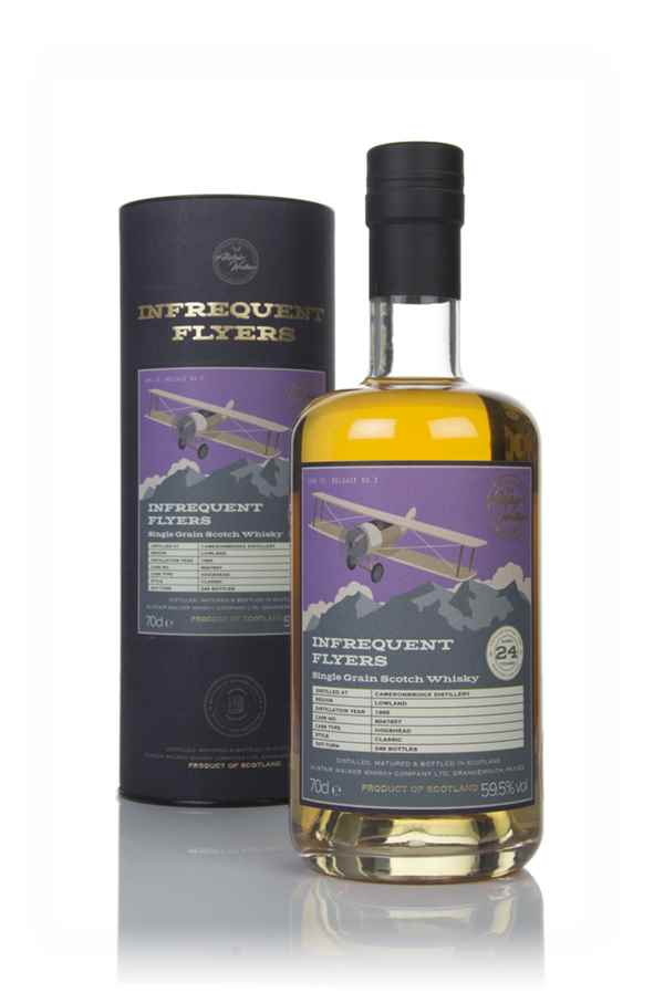 Cameronbridge 24 Year Old 1995 (cask 8047657) - Infrequent Flyers (Alistair Walker)