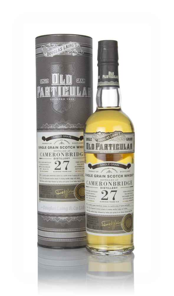 Cameronbridge 27 Year Old 1991 (cask 13175) - Old Particular (Douglas Laing)
