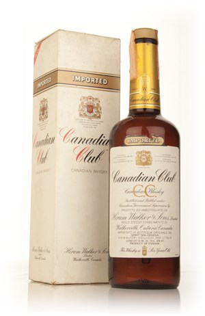 Canadian Club 6 Year Old Whisky - early 1980s