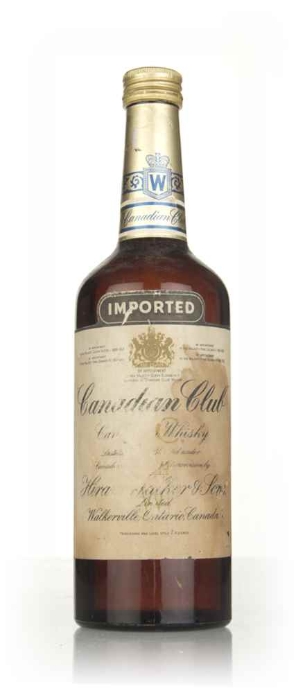 Canadian Club Whisky - 1960s