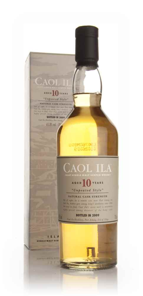 Caol Ila 10 Year Old Unpeated (2009 Special Release)