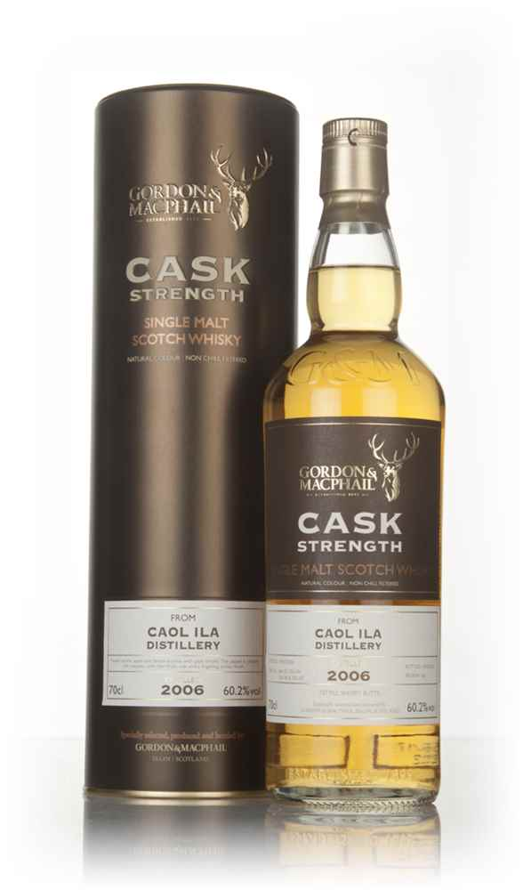 Caol Ila 10 Year Old 2006 (casks 306183, 306184, 306186 & 306187) - Cask Strength (Gordon & MacPhail)