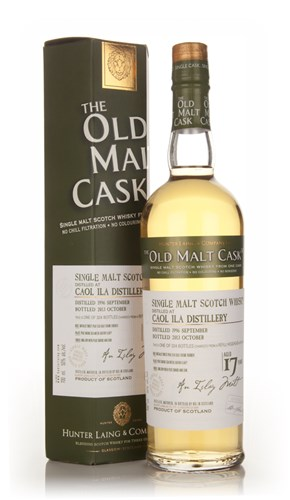Caol Ila 17 Year Old 1996 (cask 10123) - Old Malt Cask (Hunter Laing)
