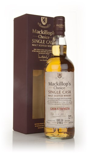Caol Ila 30 Year Old 1981 (cask 3234) - Mackillop's Choice